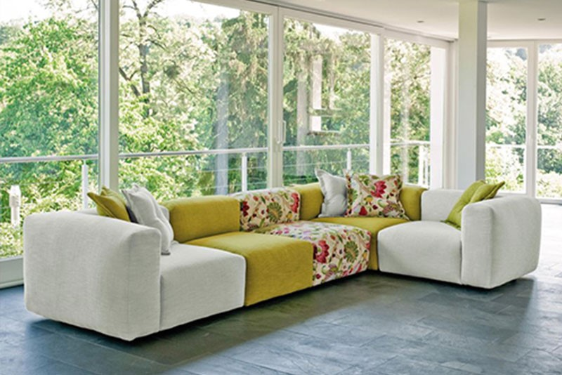 5 tendencias en sof s para estar a la moda for Sofas por modulos
