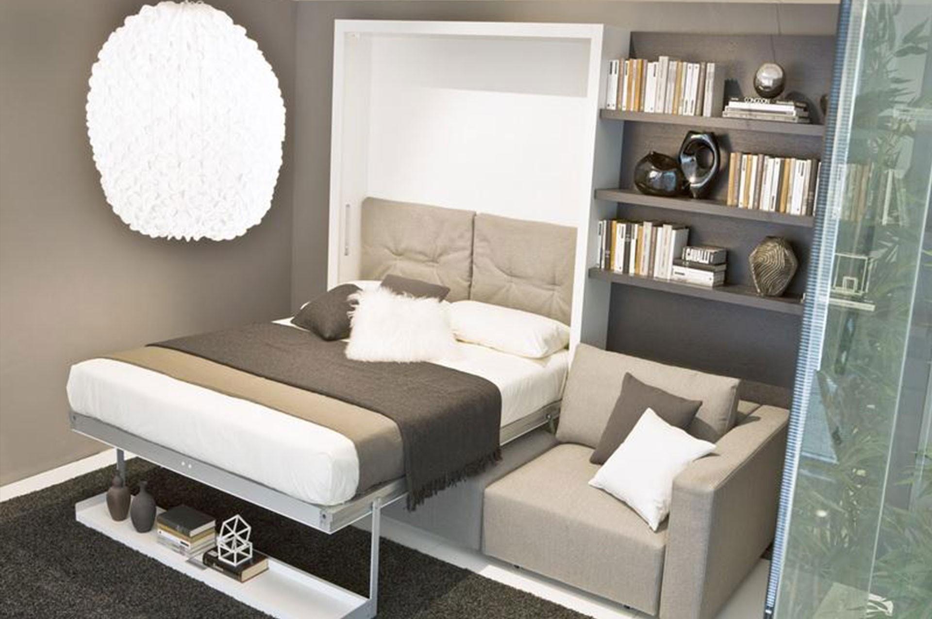 Welches Sofa passt am besten in ein kleines Wohnzimmer?