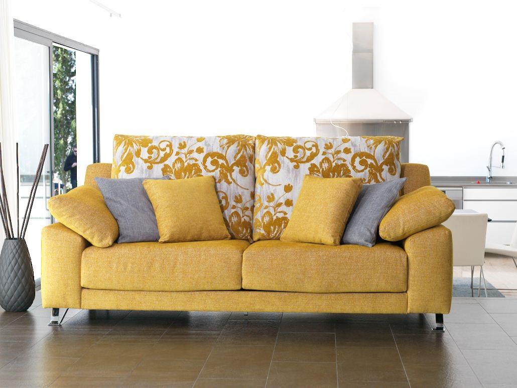 Los tejidos para sof s no tienen por qu ser aburridos - Sofas tapizados en tela ...