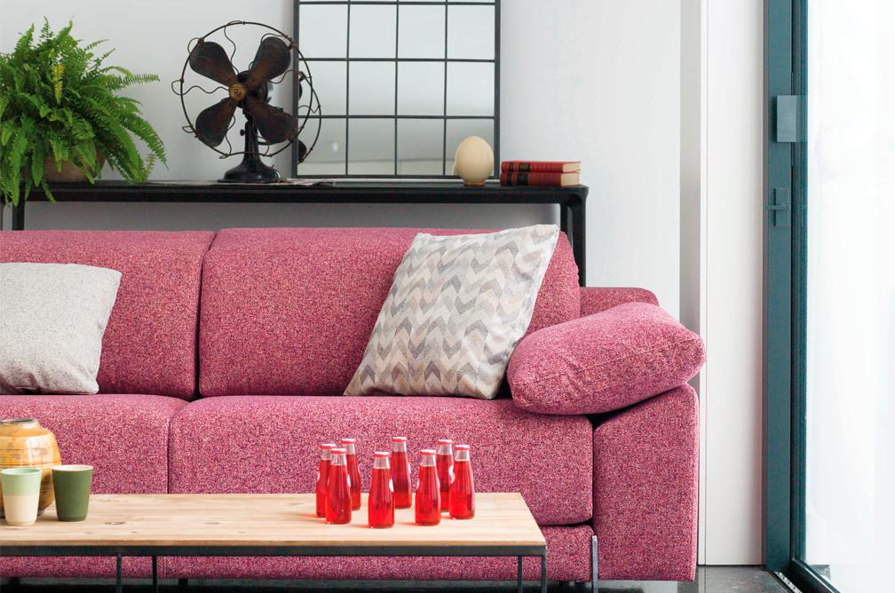 Cómo vestir tu sofá en primavera