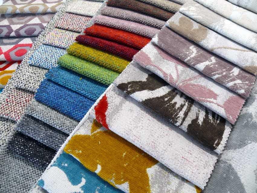 Sofa fabrics don't have to be boring